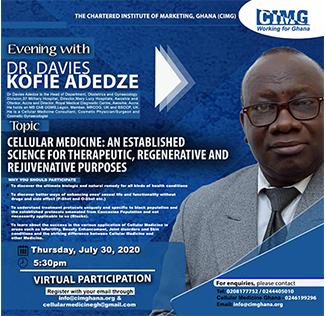 An evening with Dr.Davies Kofie Adedze(CIMG)